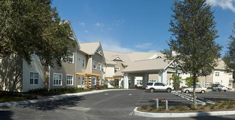North Pinellas Care Center Entrance